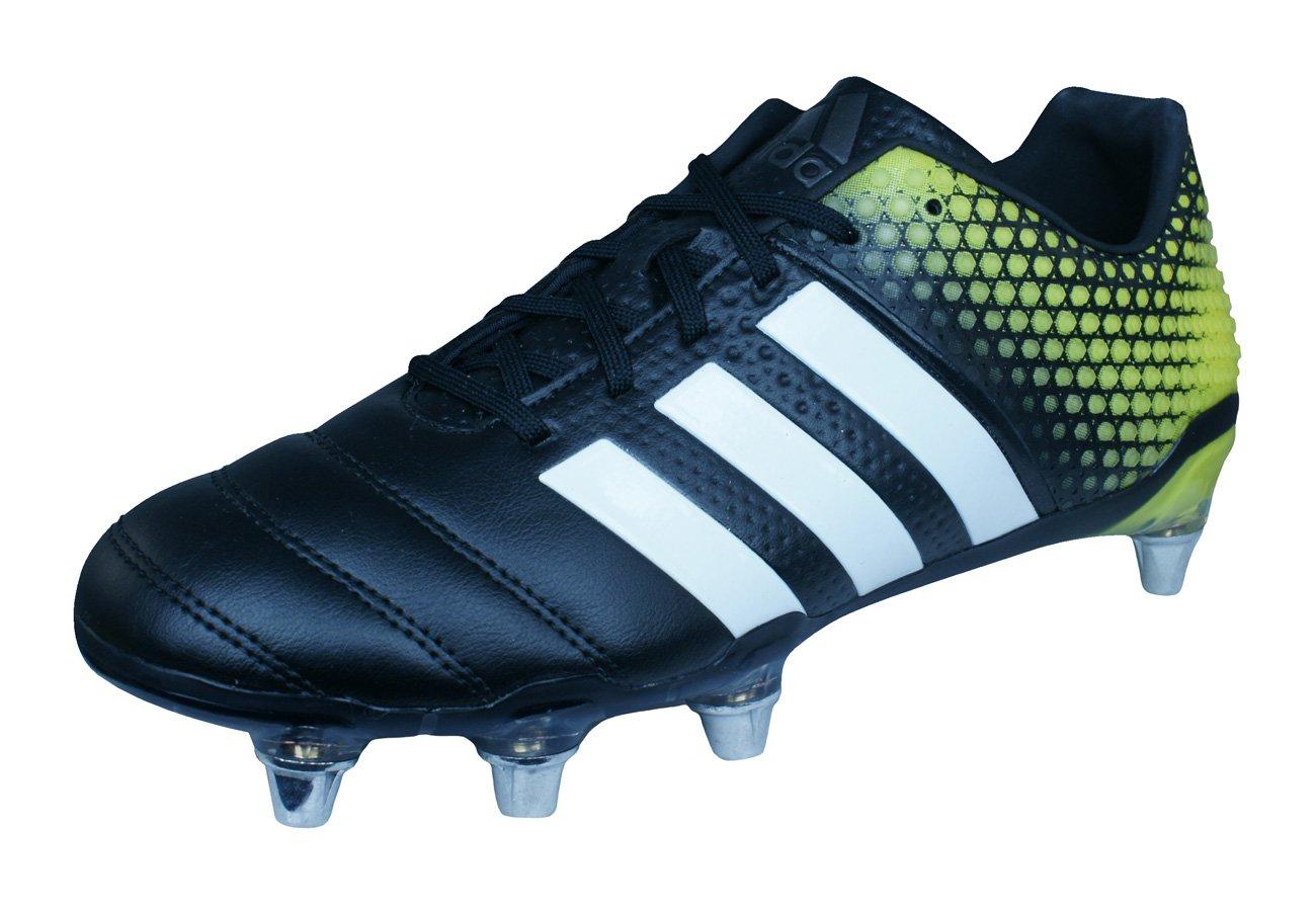 adidas Adipower Kakari 3.0 SG Mens Rugby Boots-Black-9