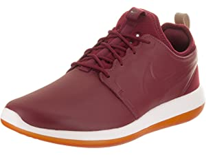 sale retailer 26ff8 567dd Amazon.com | Nike Mens Roshe Two Leather Premium Shoes Off White ...