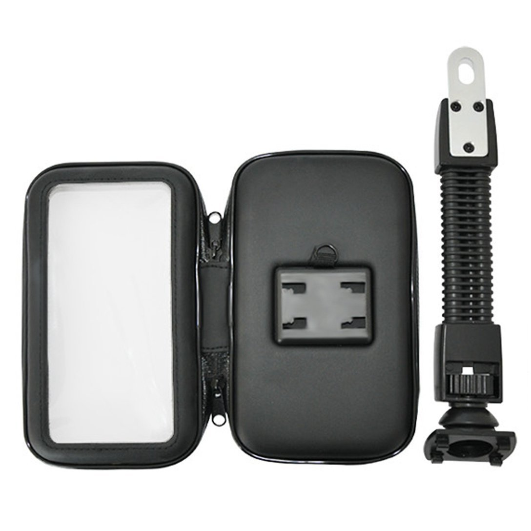 Wasserdicht Motorrad Handyhalterung Samsung Galaxy Note 3//4//5 Wrcibo Universal 360 Drehbar Motorradhalterung Schutzh/ülle Case Tasche f/ür iPhone 6//6s//7