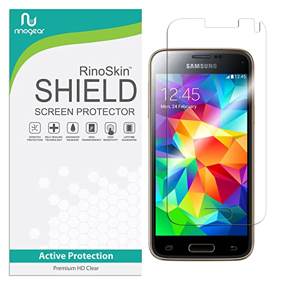 fab4a23d3a0 Image Unavailable. Image not available for. Color: RinoGear for Samsung  Galaxy S5 Mini Screen Protector ...