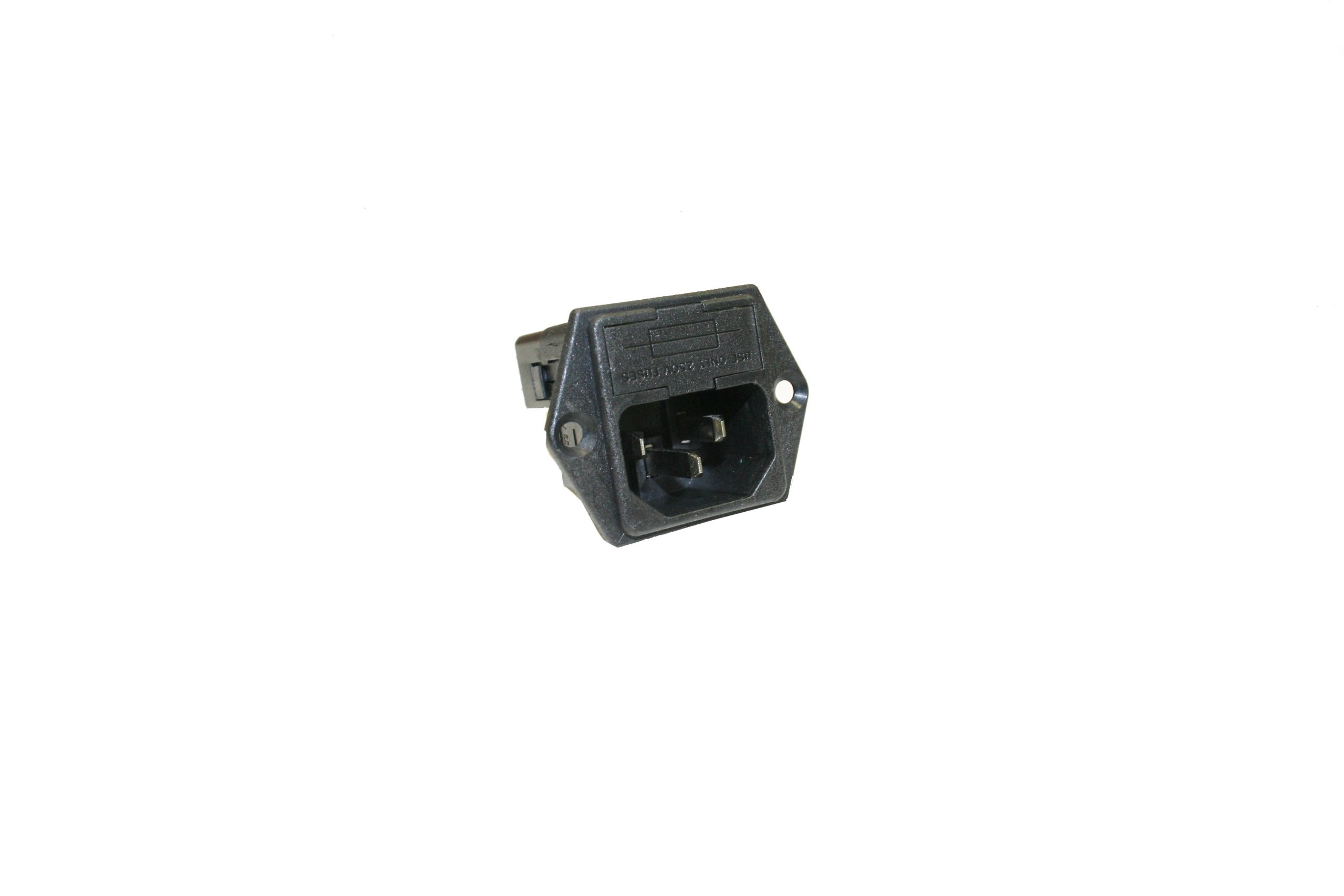 Interpower 83110170 Two Function Double Fused Module, C14 inlet, Double Fused, 10A Current Rating, 250VAC Voltage Rating