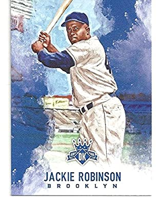 Jackie Robinson Collectible Baseball Card 2017 Panini Diamond