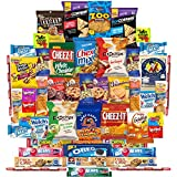 #7: Munchies Care Package Chips Cookies & Candy Includes Goldfish, Oreos, Skittles, Sour Patch, m&m Cookie, Air Heads, Planters Peanuts, Rice Krispies & More (50 Count)