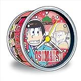Japanese Comedy Manga Matsuno sextuplets Brothers Osomatsu-san Character Tin Can Clock (Osomatsu)