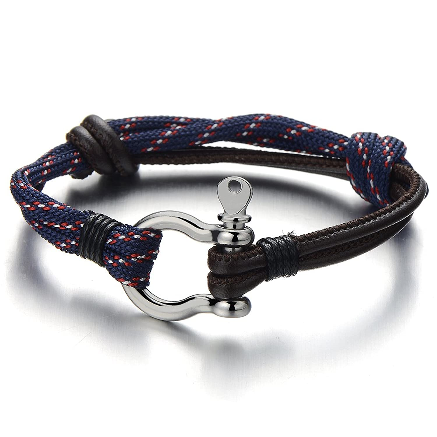 nautical mens small product moq see jewelry larger image bracelet rope navy fashion newest