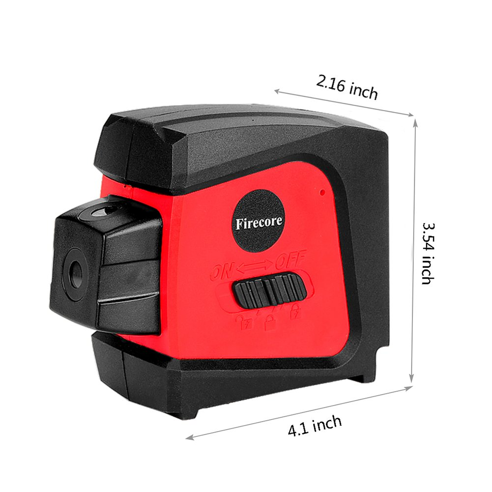 Firecore F333R Red 3-Point Laser Alignment with Self-Leveling by Firecore (Image #5)