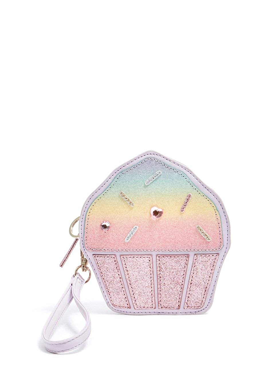 GUESS Factory Kids Girls Happiness Cupcake Wristlet