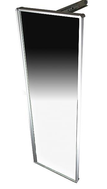 Qline Full Length Retractable Closet Mirror