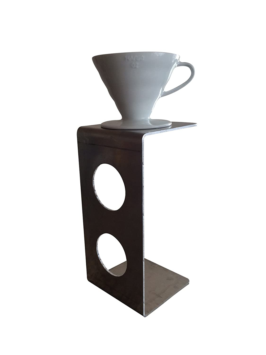 c5edbecfa7e Amazon.com  Modern Pour Over Coffee Stand for Use with V60 Coffee Dripper   Kitchen   Dining
