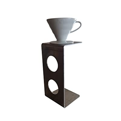 Modern Pour Over Coffee Stand for Use with V60 Coffee Dripper