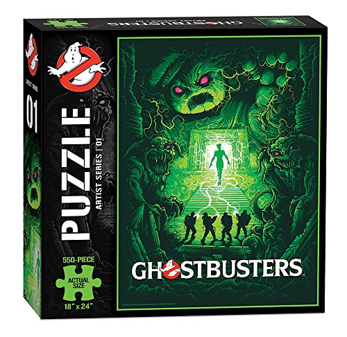 Ghostbusters Artist Series 01 Puzzle (550 Pieces)