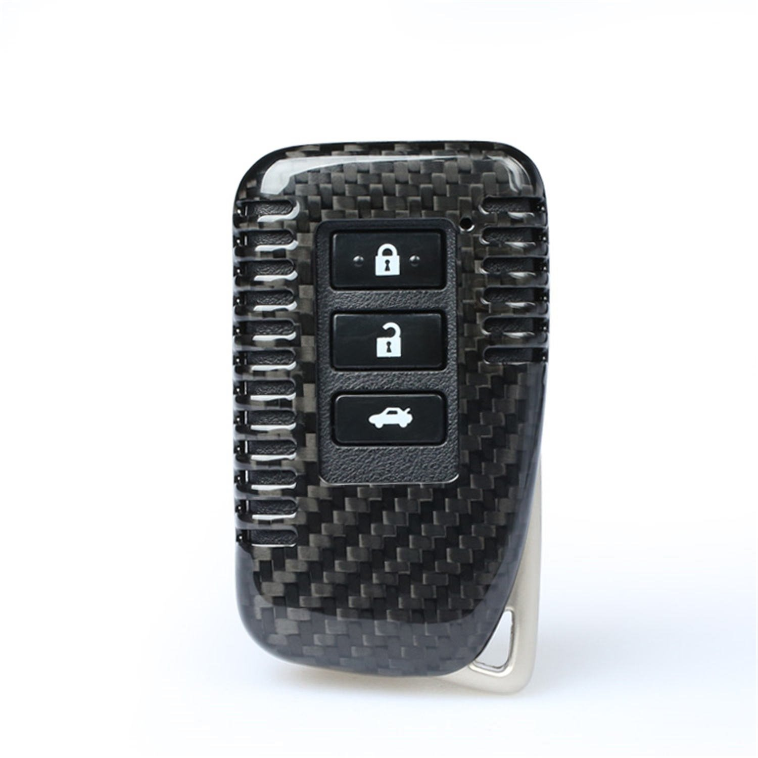 4 Buttons Red Genuine Carbon Fiber Cover For Lexus ES GS IS LX NX RX RC RC-F Smart Keyless Fob Remote Key 100/% Carbon Fiber Case For Lexus Key Fob Mens Car Key Fob Case Womens Fob Cover