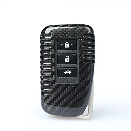 Lexus Key Fob >> 100 Carbon Fiber Case For Lexus Key Fob Genuine Carbon Fiber Cover For Lexus Es Gs Is Lx Nx Rx Rc Rc F Smart Fob Remote Key Men S Car Key Fob Case