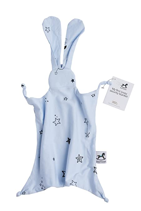 Amazon.com: bunny-organic Blanket- Lovey Manta de seguridad ...