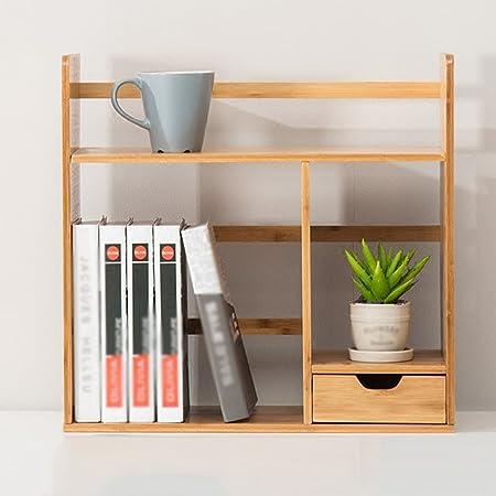 shelf book desktop organizer personalized wooden bookcases bookcase adjustable