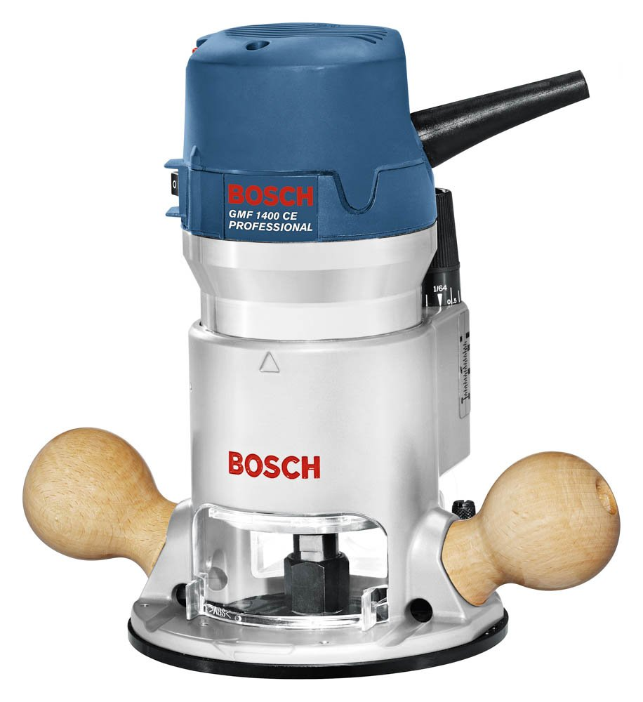 Bosch 12 Amp 2-1/4 HP Variable-Speed 1617EVS with 1/4-Inch and 1/2-Inch Collets by Bosch (Image #1)