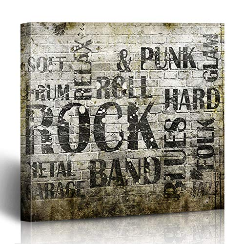 Rock And Roll Artwork - Krezy Decor Canvas Print Wall Art Painting 12