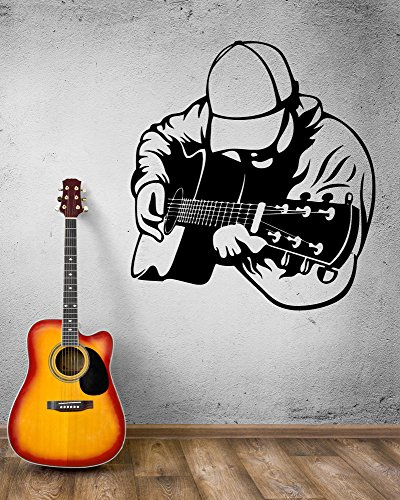 wall-decal-musician-guitar-guitarist-musical-instrument-bard-vinyl-decal-ed369-gold-metallic