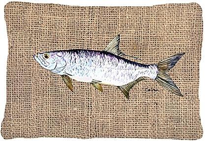 Amazon.com: Tesoros de la Caroline 8774pw1216 peces – Tarpon ...