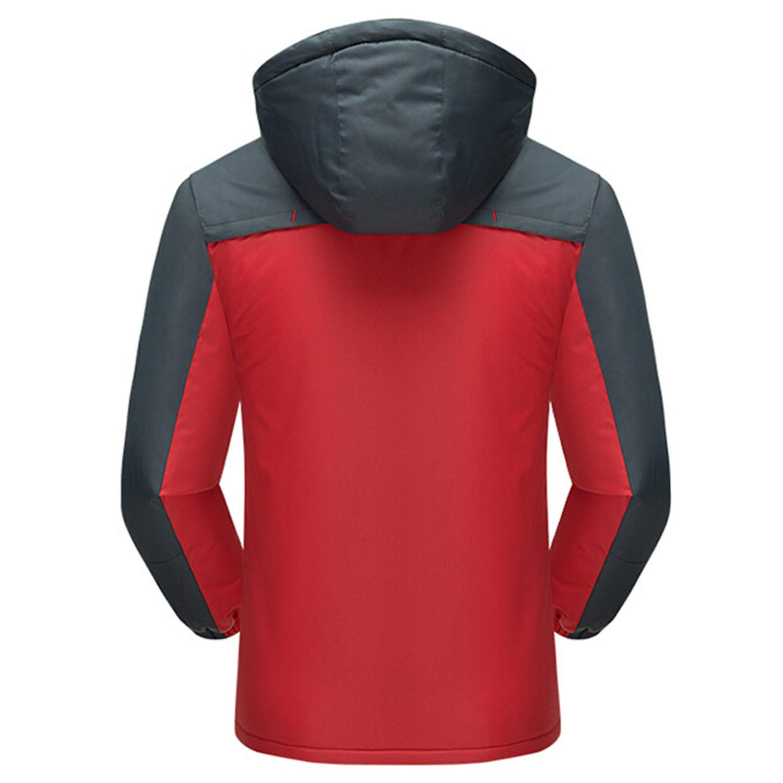 Jacket Men Winter Thick Fleece Outwear Military Mens Windbreaker Army Parka Raincoat Coats