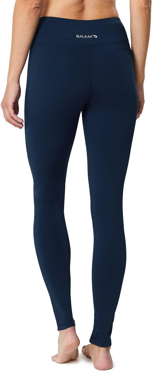 BALEAF Womens Fleece Lined Leggings Yoga Pants Inner Pocket