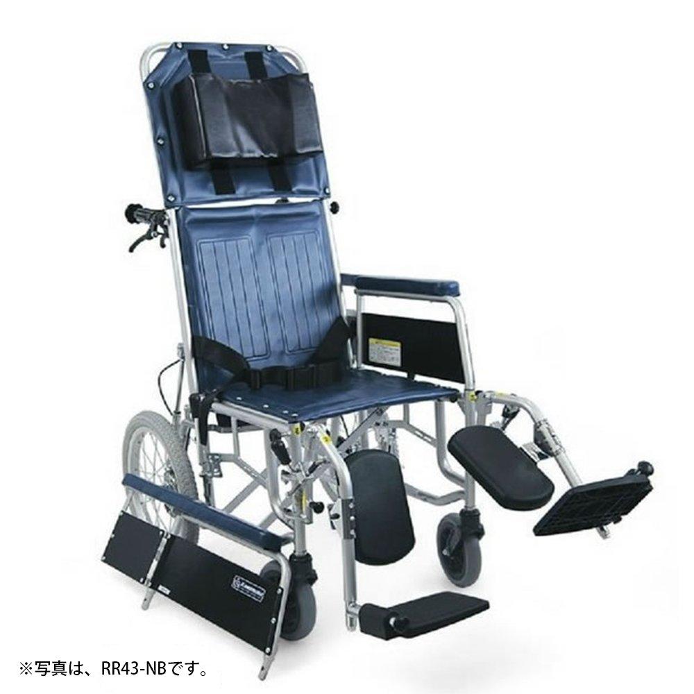 カワムラサイクル 【非課税】リクライニング車いす(介助用) RR43-N(スチールセイ) B00BVK33CK