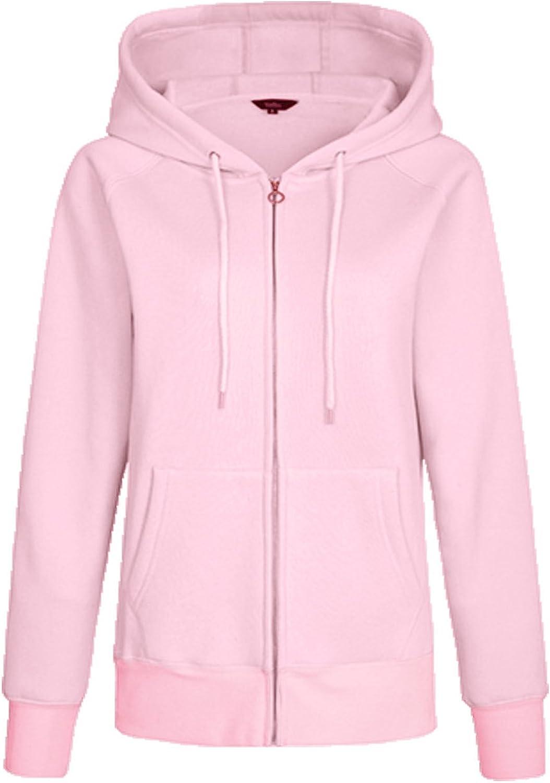 Kidsform Damen Hoodie Langarm Pullover Kapuzenpulli Outwear Kapuzenjacke Sweatshirt Jacken Herbst Winter