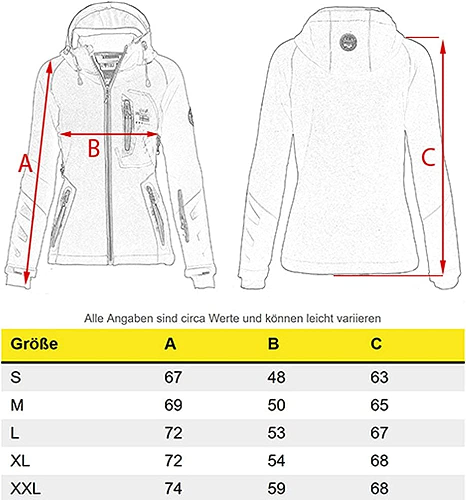 Giacca sportiva softshell da donna Geographical Norway