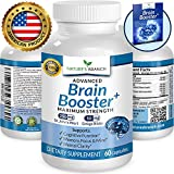 ★ ADVANCED Brain Support Supplement Focus Clarity & Memory Booster PLUS FREE EBOOK Energy Enhancer Ginkgo Biloba St Johns Wort Vitamins Nootropic Power Boost 60 Brain Health Function Pills
