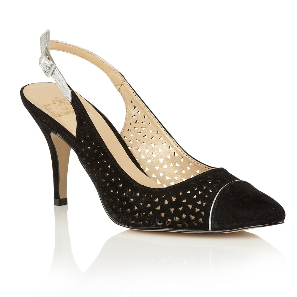 Lotus Hallmark scarpe Court ELA & uniforme, Scarpe da lavoro, colore  nero