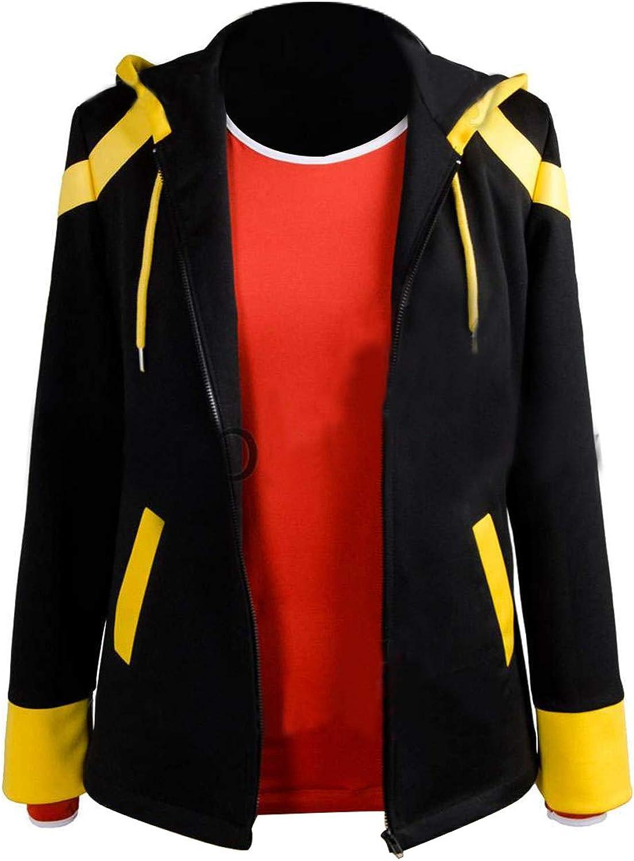 Anime Mystic Messenger 707 Hoodie Sweatshirt Cosplay Costume Zip Up Men/'s Jacket