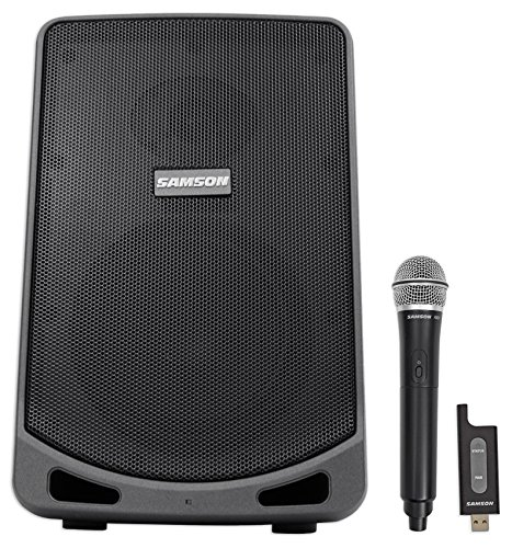 Samson 6'' Portable Rechargeable Speaker+Mic For Workout, Yoga, Spin, Fitness by Samson Technologies (Image #9)