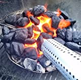 Charcoal Starter or Fire Lighting Tool, Perfect for Charcoal BBQ, Big Green Egg, or Fireplace