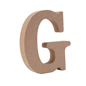 Amazon.com : Wooden Letters, Yalatan Hanging Wall 26 Letters Wooden ...