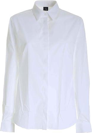 Camicia Bianca con Ricamo SUL Fondo NCWA141565SORMB001 Bianco ...