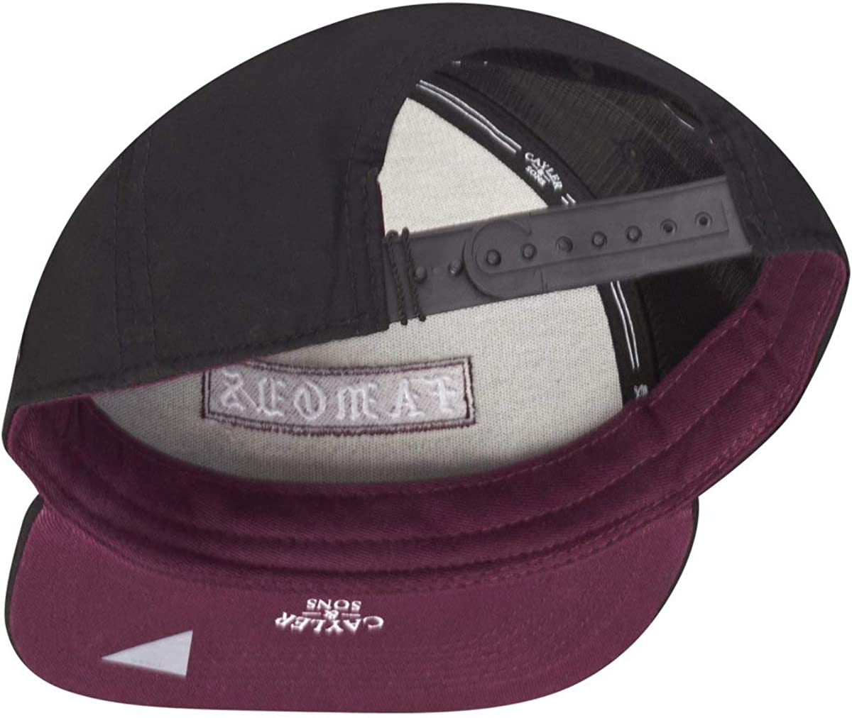 Cayler & Sons Gorras Drop out Black/Bordeaux Snapback: Amazon.es ...
