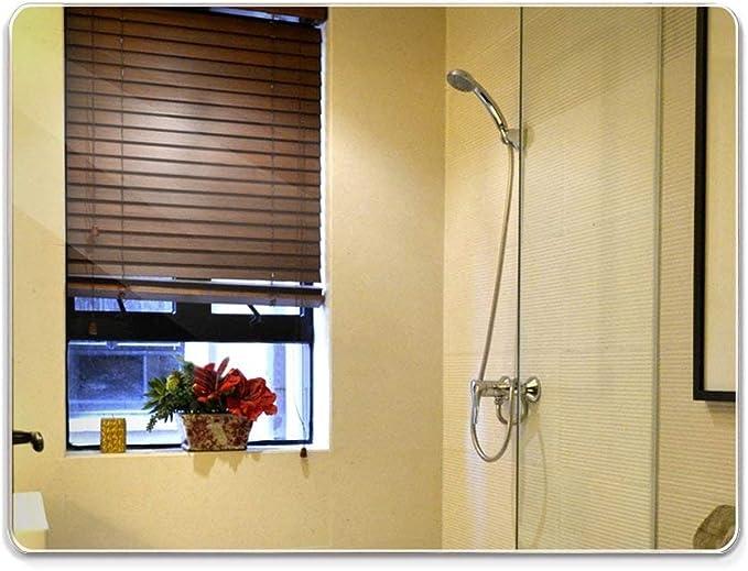 ỸẼT Espejo De Pared De Vidrio De Aspecto Lavabo Suspendido Baño Espejo Sin Marco De Lavabo con Cristal Cortado, 50 * 70cm: Amazon.es: Hogar