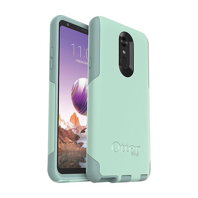 best service 555b4 049ae OtterBox Commuter Series Case for LG Stylo 4 - Retail Packaging - Ocean Way  (Aqua SAIL/Aquifer)