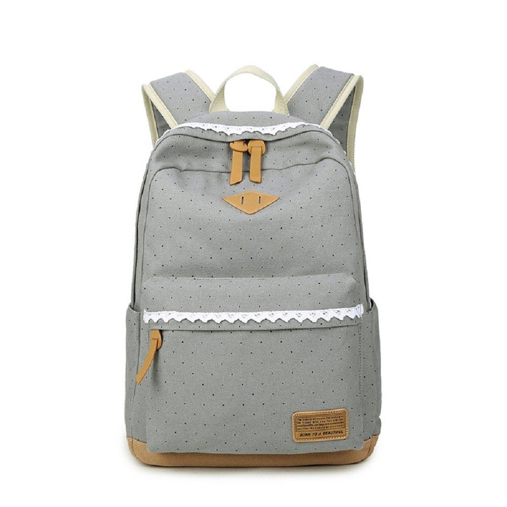 Urmiss Cute Piggy Nose Backpacks Dot Casual School Bags Large Capacity Rucksacks Daypack for Girls/boys/women/men