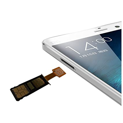 Amazoncom Xsc Dual Sim Card Micro Sd Adapter For Android Extender