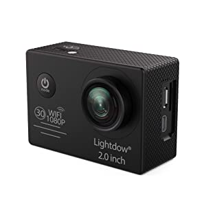 Lightdow LD4000 1080P HD Sports Action Camera Bundle