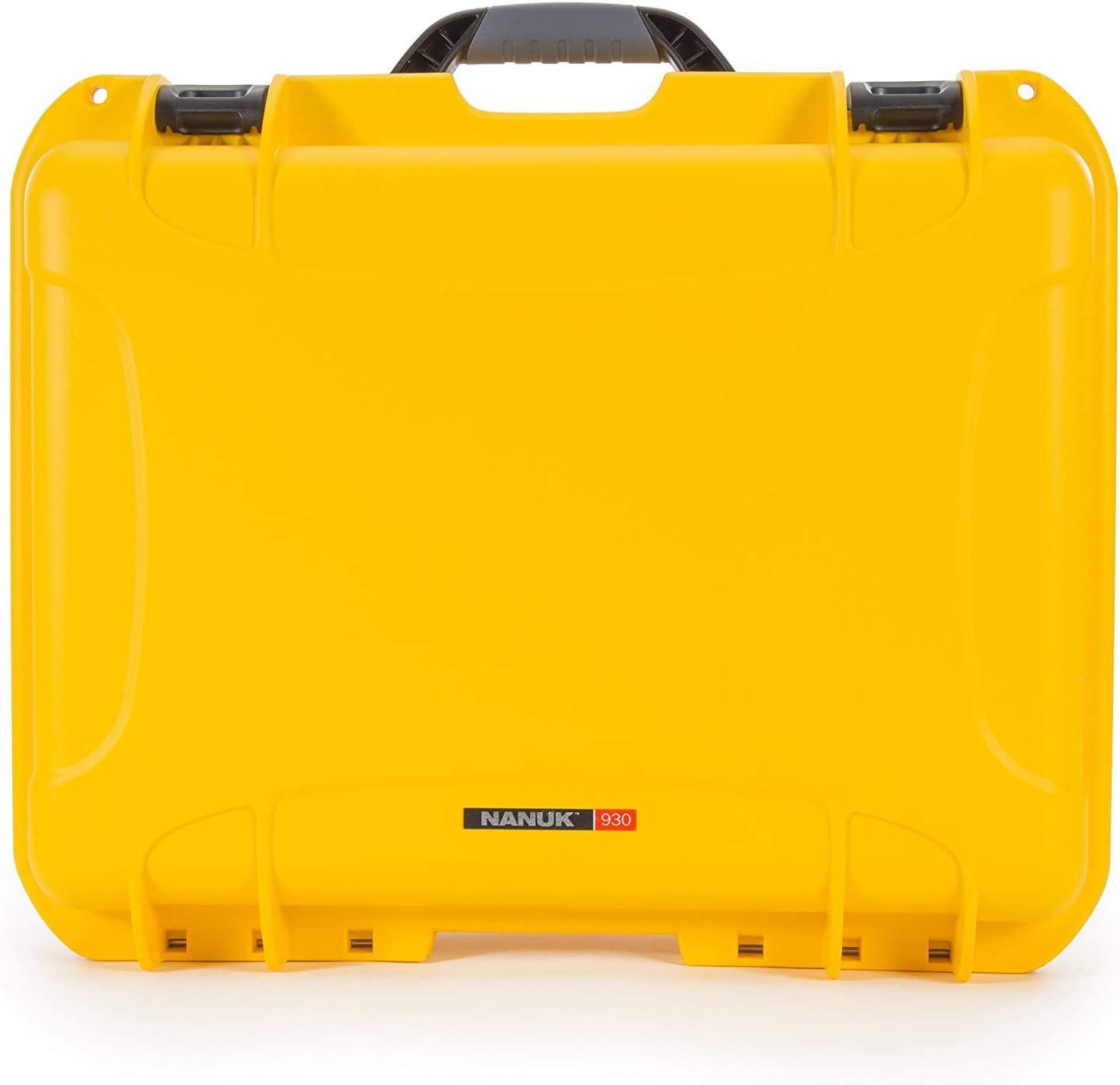 Nanuk 930 6004 Hartschalenkoffer Mit Deckel Und Kamera