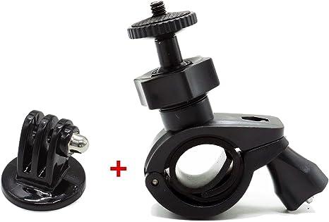 Huele soporte de bicicleta Soporte para manillar de bicicleta para altavoces Bluetooth/GoPro Hero/cámaras: Amazon.es: Electrónica