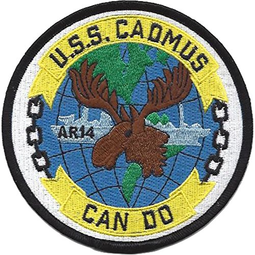 Auxiliary Patch - USS Cadmus AR-14 Auxiliary Repair Tender Ship Patch