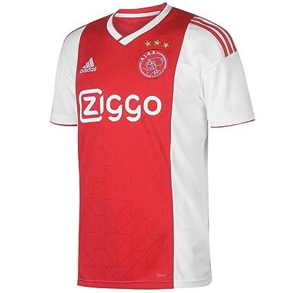 7fae699d52df Amazon.com : adidas 2018-2019 Ajax Home Football Shirt : Sports & Outdoors