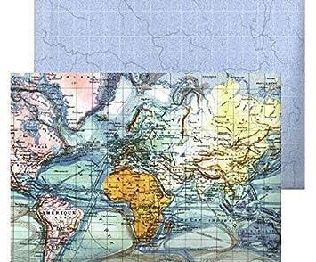 Amazoncojp 写真カード22日7x327cm両面の世界地図300gm2