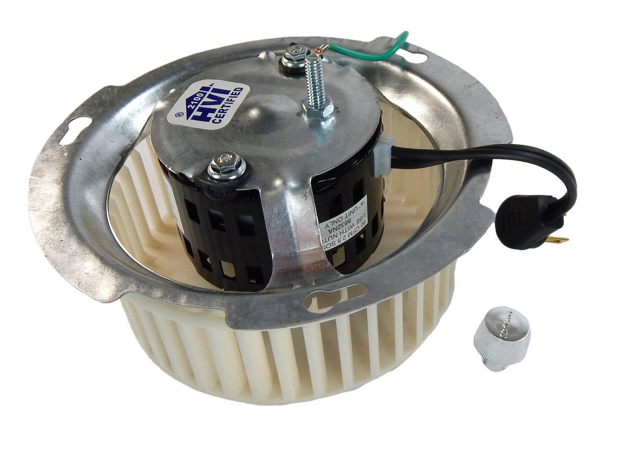 Nutone 8832NA Blower Motor Assembly (JA2B099N) 1285 RPM 120 Volts # 84757