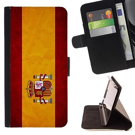 Graphic4You España bandera española Cuero Carcasa Funda ...