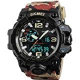 SKMEI Sports Analog-Digital Multi-Colour Dial Men's Watch - SkmeiMW52