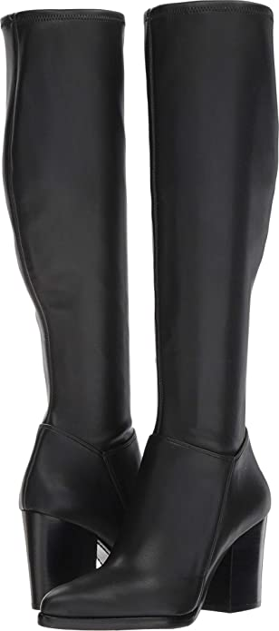 b7036dfdcc7 Marc Fisher LTD Women s Anata Black Leather 10 M ...